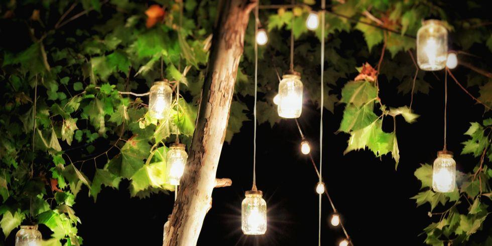 como iluminar jardin